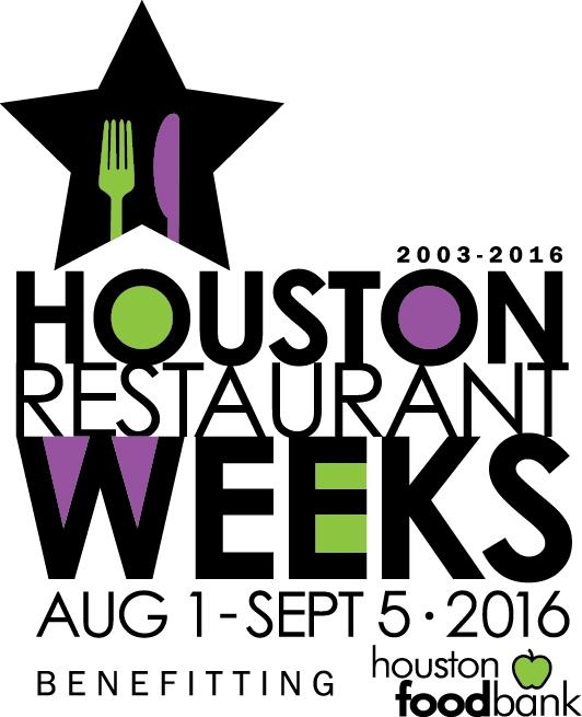 Houston Restaurant Weeks 2016